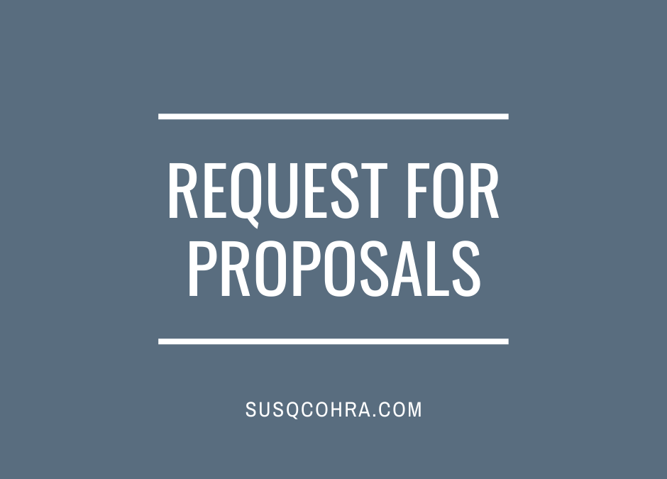 Request for Proposals: Housing Inspection Service